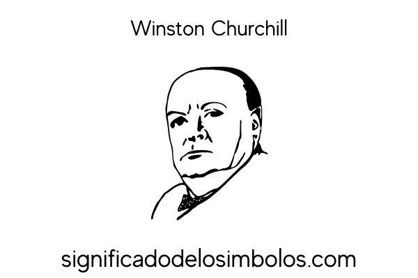 simbolos masonicos Winston Churchill