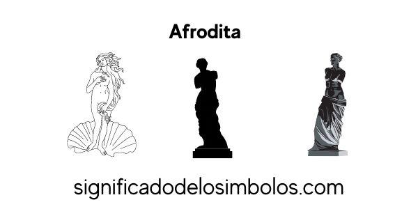 Afrodita símbolos griegos