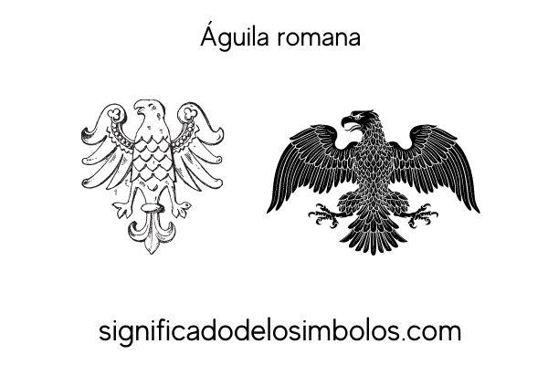 simbolos romanos aguila romana