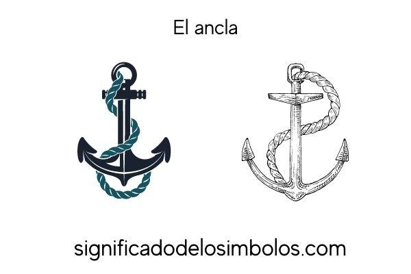 simbolos romanos ancla