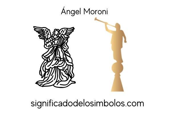 simbolos religiosos angel moroni