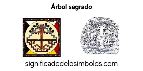 Arbol sagrado símbolos maya