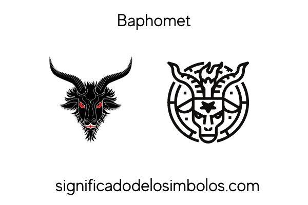 Símbolos satánicos baphomet