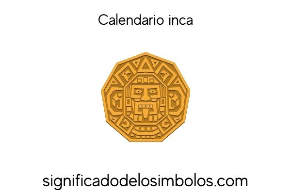 simbolos incas calendario inca