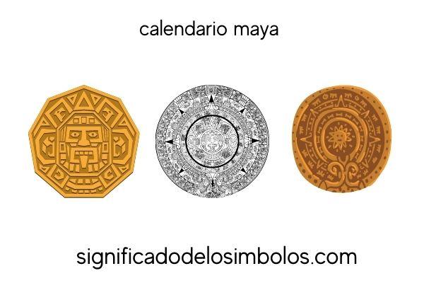 símbolos mayas calendario maya