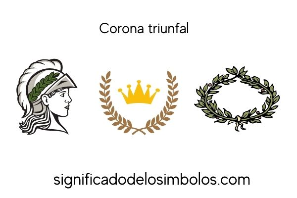 simbolos romanos corona triunfal