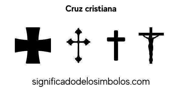 cruz cristiana símbolos religiosos