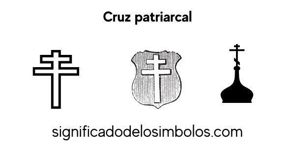 cruz patriarcal símbolos religiosos