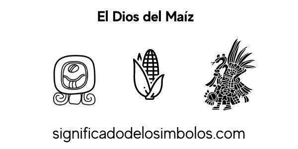 Dios del maiz símbolos maya
