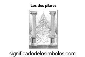dos pilares símbolos masónicos