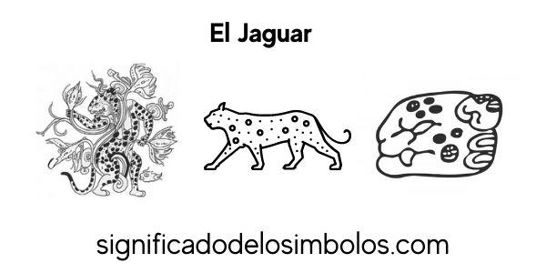 El jaguar símbolos maya