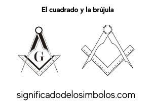 la escuadra y compas símbolos masónicos