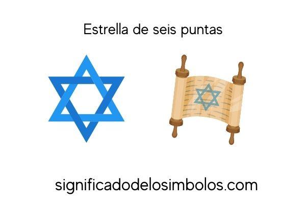 símbolos judíos estrella david