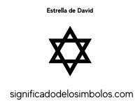 estrella de david símbolos judíos