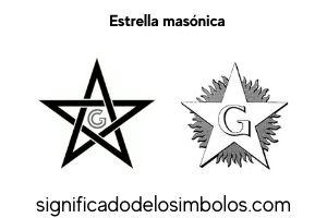 estrella masonica símbolos masónicos
