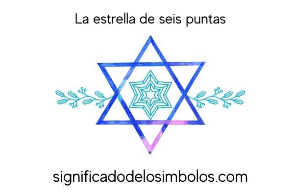 símbolos hindúes estrella seis puntas