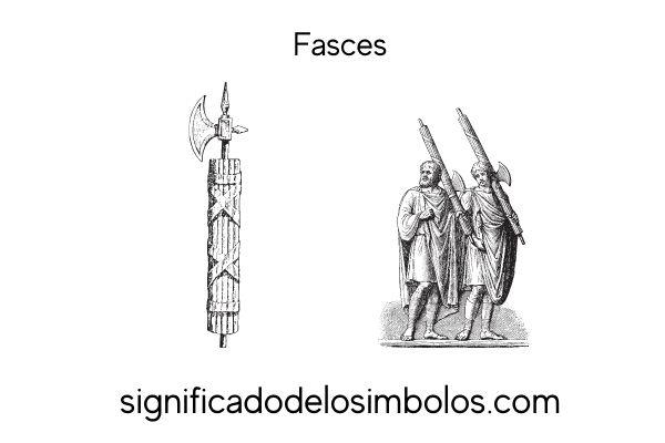 simbolos romanos fasces
