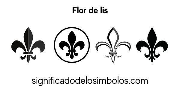 Flor de lis símbolos religiosos
