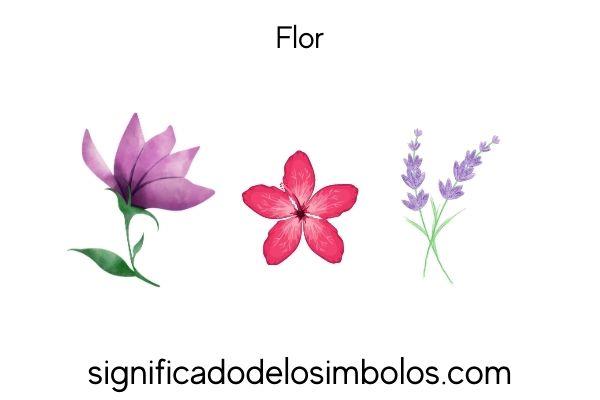 simbolos incas flor