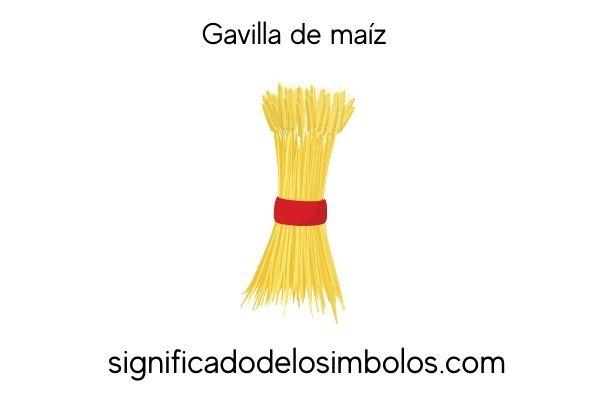 significado de los simbolos gavilla de maiz