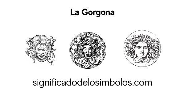 La gorgona símbolos griegos