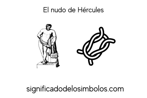 simbolos romanos nudo de hercules