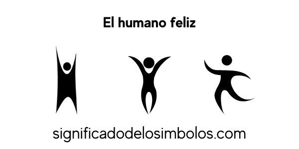 el humano feliz símbolos religiosos