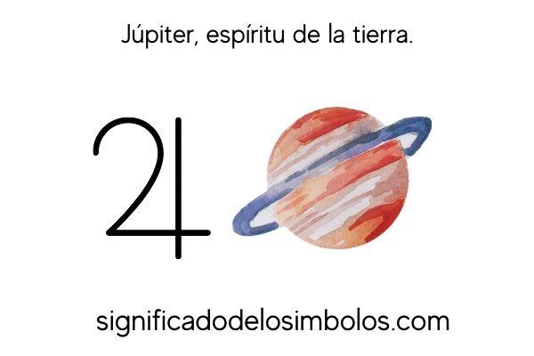simbolos planetarios jupiter