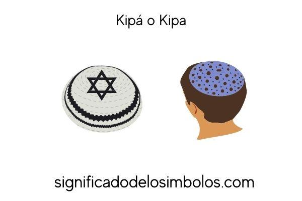 símbolos judíos kipa
