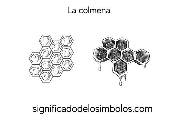 significado de los simbolos la colmena