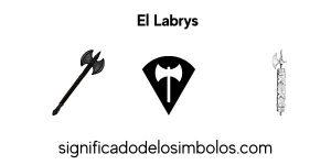 Labrys símbolos griegos