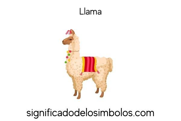 simbolos incas llama