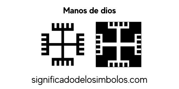 simbolos religiosos mano de dios