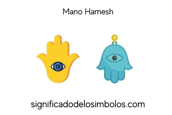 símbolos judíos mano hamesh