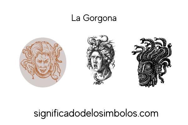 simbolos romanos la gorgona
