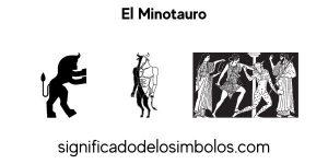Minotauro símbolos griegos