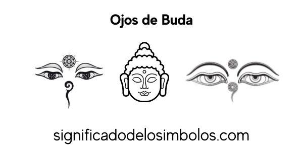 Ojos de buda símbolos religiosos