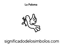 Paloma símbolos cristianos