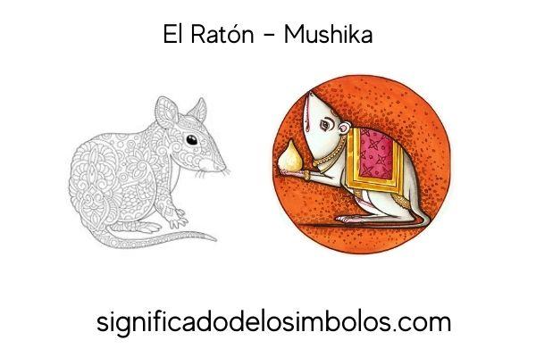 símbolos hindúes raton
