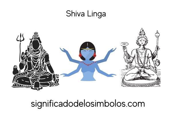 símbolos hindúes shiva linga