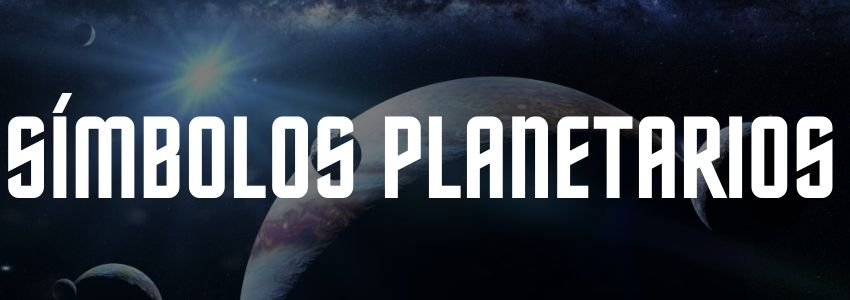 simbolos planetarios