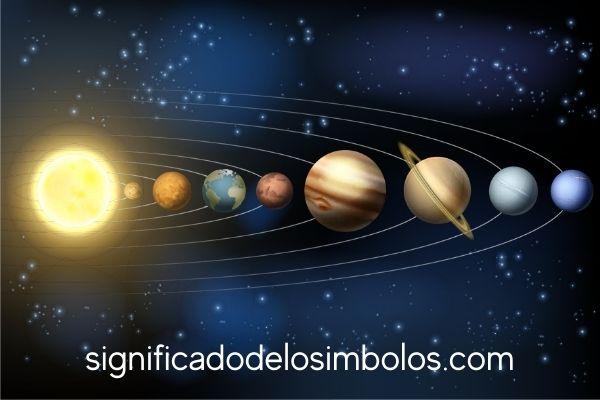 símbolos planetarios