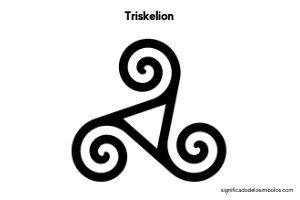triskelion símbolo celta