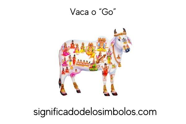 símbolos hindúes vaca