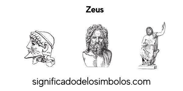 Zeus símbolos griegos