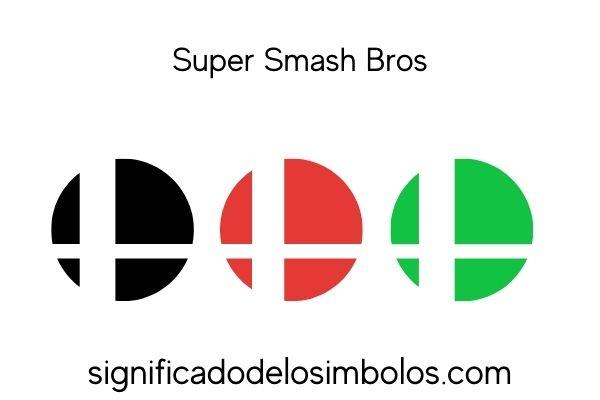 Super Smash Bros símbolos de los videojuegos y su significado