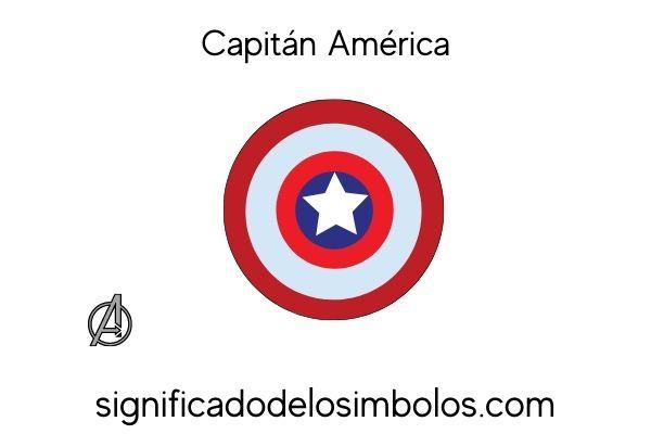 Capitan MAerica símbolos de marvel y su significado