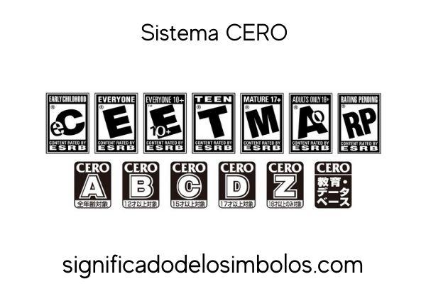 sistema cero símbolos de los videojuegos y su significado