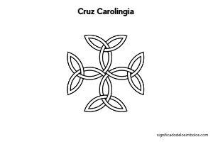 simbolos celtas cruz carolingia