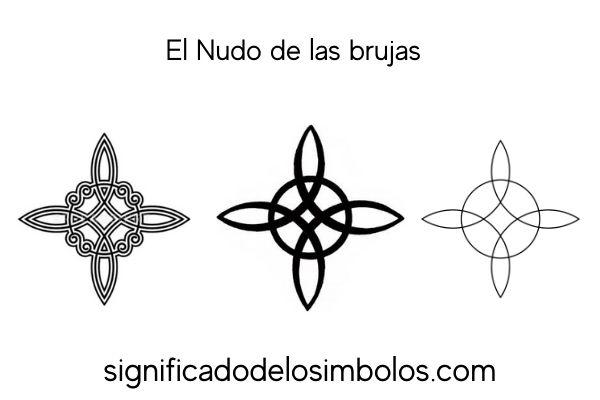 El nudo de las brujas símbolos de brujería